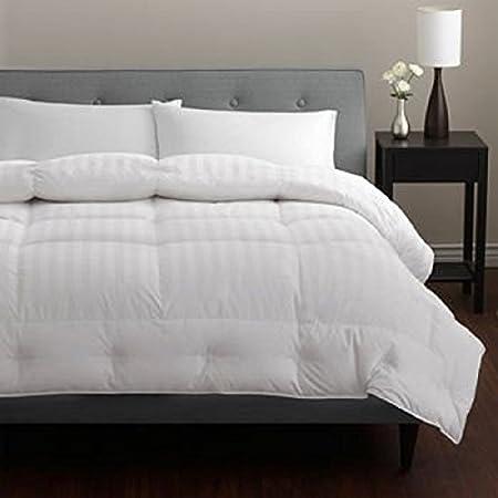 "Platinum European Pacific Coast Down Comforter 500 Thread 100% Cotton with Luxurious 650 Pyrénées - Queen 90"" x 98"""