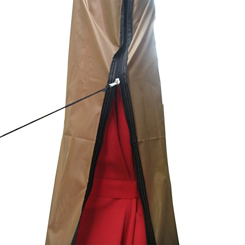 Patio Umbrella Covers With Zipper: Abba Patio Offset Cantilever Umbrella Cover For 9 To 11 Ft