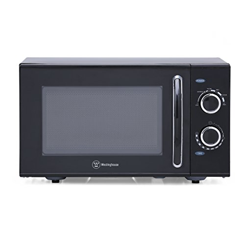 ... Top Microwave with Mechanical Dial Control, Black - Cook. Clean. Enjoy