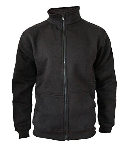 Felpa maglioni da uomo cerniera giacca ROCK-IT originale, nero XX-Large
