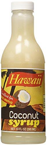 Hawaii Coconut Syrup - 10 oz.
