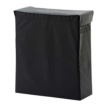 Black Slim Clothes Hamper