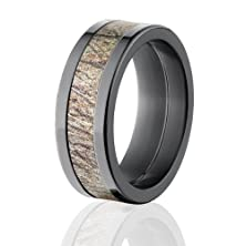 buy Mossy Oak Camouflage Wedding Bands, Brush Camo Rings