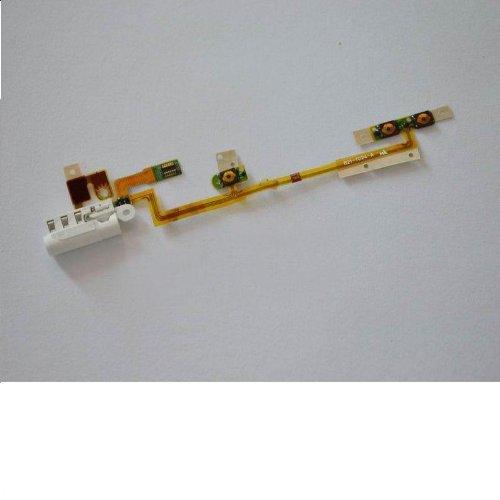 Generic Headphone Jack Power Volume Flex Cable For Ipod Nano 6Th Gen Repair Part