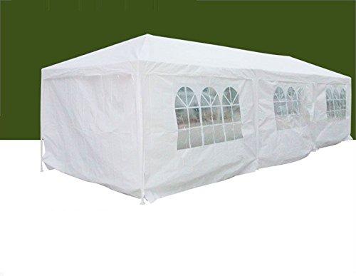 New-Year-Sale-Peaktop-Heavy-Duty-Outdoor-Carport-Car-Shelter-Garage-Gazebo-Canopy-Party-Tent-10x30-sidewalls