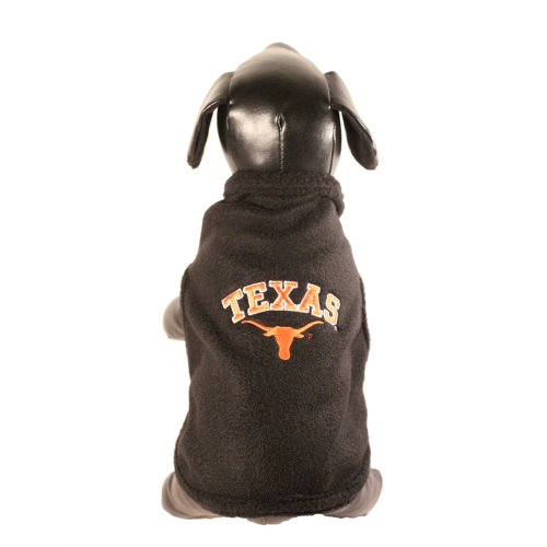NCAA Texas Longhorns Polar Fleece Dog Sweatshirt, Tiny at Amazon.com