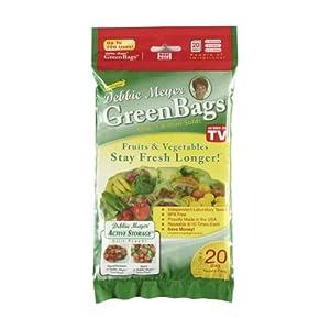Debbie Meyer GreenBags, 20-Pack