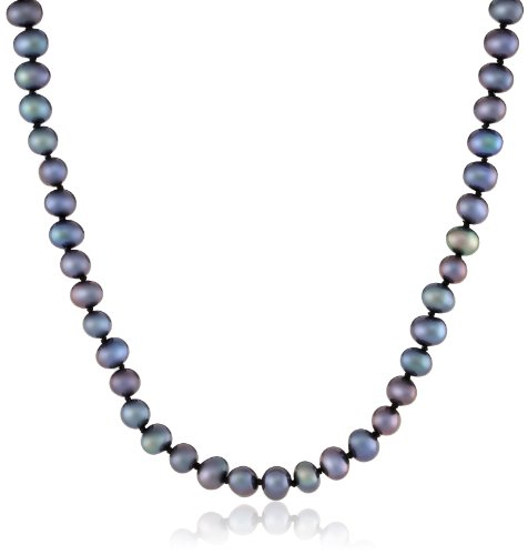 Colored Freshwater Cultured A Quality Pearl Necklace (5.5-6mm)
