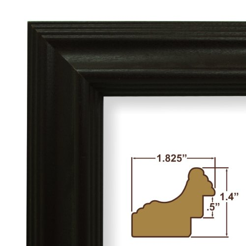 12x18-Inch Picture / Poster Frame, Wood Grain Finish, 1.825