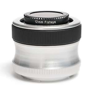 Lensbaby Scout avec objectif Fisheye pour Canon