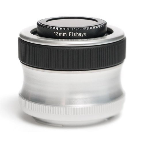 Lensbaby Scout with Fisheye Optic for Canon EF Mount Digital SLR Cameras