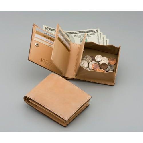 FRYING HORSE ナチュラルコードバン二つ折り財布