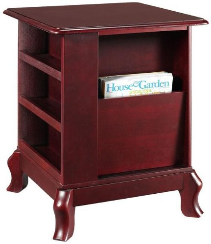 Buy Low Price Traditional End Table With Magazine Rack (B001Y2DI5C)