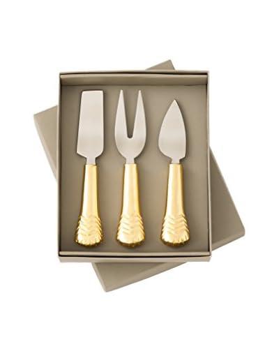 Shiraleah Liberty Cheese Set, Gold
