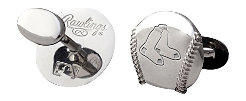MLB Boston Red Sox Engraved Cuff Links