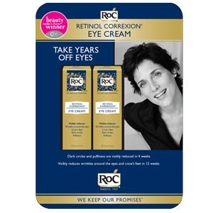 Click to buy Beauty Product Reviews: RoC Retinol Correxion Eye Cream from Amazon!