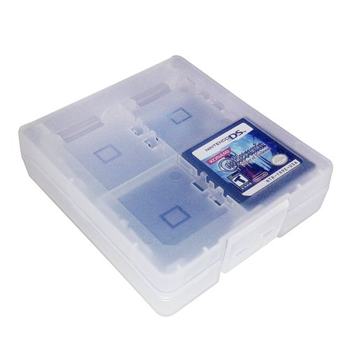 HDE 16-in-1 Game Card Travel Protective Storage Hard Carry Case Holder for Nintendo DS/DS Lite/DSI LL/DSI XL Cartridges