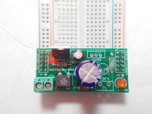 Solderless Breadboard 9 VDC Power Supply Kit