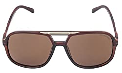 Oliver Street Square Brown Sunglasses (OS-004)