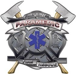 Paramedic Firefighter Fire Rescue Decal - 12