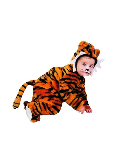 Infant (6-18 Mo.) Tiger Costume w/Snap Tape Closure