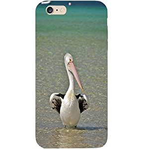 Casotec Pelican Sea Bird Design Hard Back Case Cover for Apple iPhone 6 Plus / 6S Plus