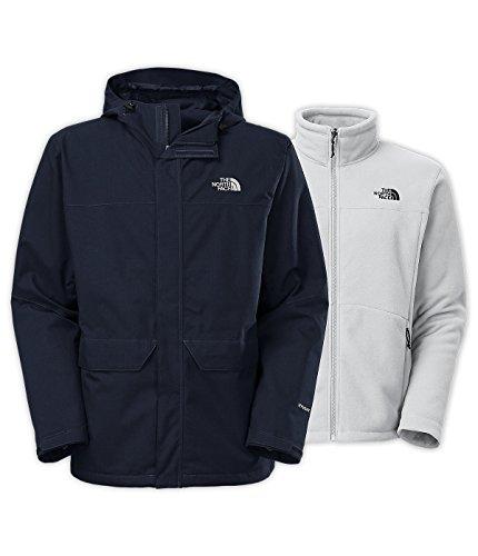 The North Face Chimborazo Triclimate Jacket Mens (Large, Cosmic Blue Heather)