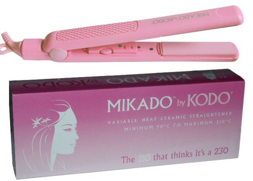 Mikado by Kodo Pink Ceramic Hair Straighteners 18 Month Guarantee
