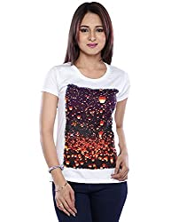 Vishal Mega Mart Women's Top (1121018618002_White_Medium)