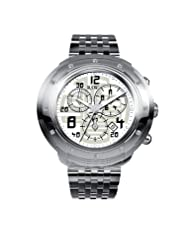 RSW Men's 4130.BS.S0.12.D0 Volante Round Silver Dial Chronograph Sapphire Crystal Diamond Watch