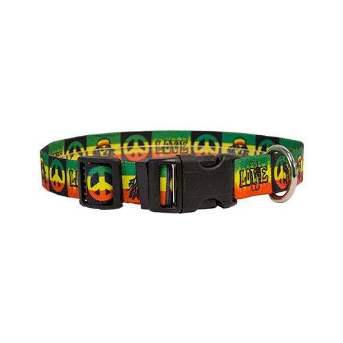Rasta Dog Collar - Size Extra Small 8