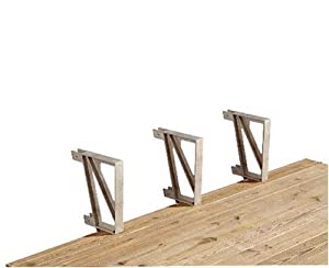 2x4basics Dekmate Deck Bench Bracket 1 Single Unit Per Pack Sand Discontinued By