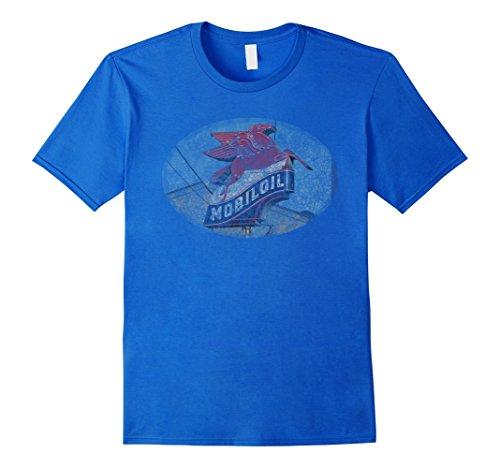mens-vintage-retro-mobil-oil-sign-distressed-t-shirt-medium-royal-blue