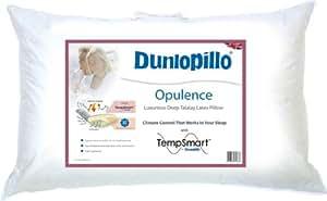 Dunlopillo opulence oreiller en latex avec tissu temp smart cuisi - Oreiller dunlopillo latex ...