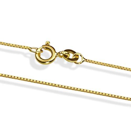 Goldmaid Unisex-Halskette Venezianer 333 Gelbgold 45 cm Ke 4810GG333