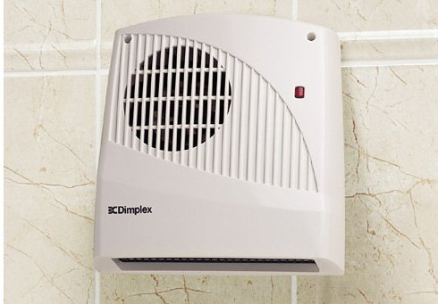 Small electric heaters for bathroom use uk for Electric bathroom heaters ceiling mounted