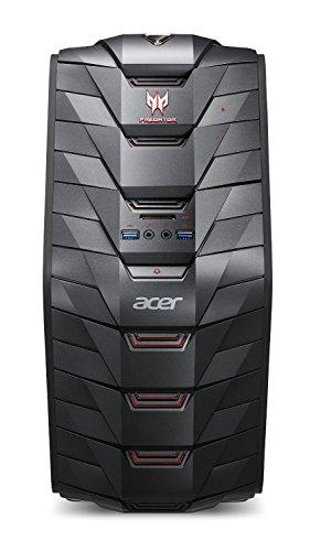 Acer Predator G3-710 Desktop, Processore Intel Intel Core i7 6700, RAM 8GB, HDD da 1000GB, Scheda Grafica NVIDIA GTX 970 da 4GB, Nero
