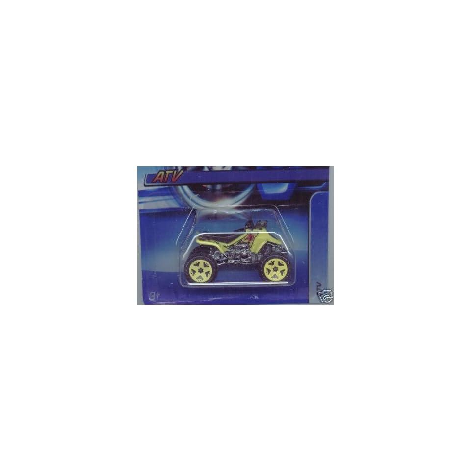 Mattel Hot Wheels 2005 164 Scale Yellow ATV Die Cast Car #167