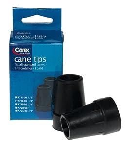 Carex Cane Tip 3/4, Black