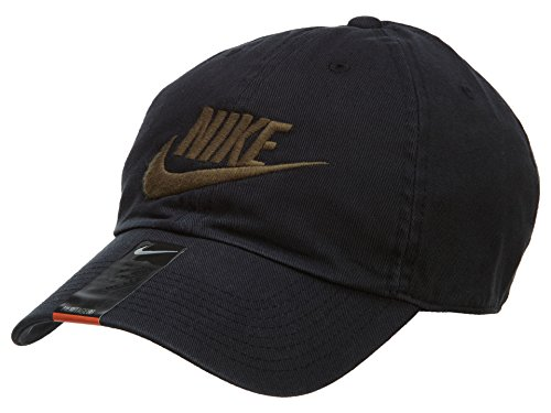 9810d858292d9 ... best price nike unisex futura washed h86 adjustable hat black medium  olive 626305 010 da8fa a79a0