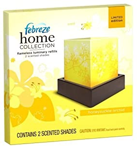 Febreze Honeysuckle Orchid Home Collection Flameless Luminary Refills by Febreze