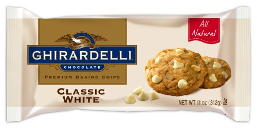 Ghirardelli Chocolate Baking Chips, Classic White,