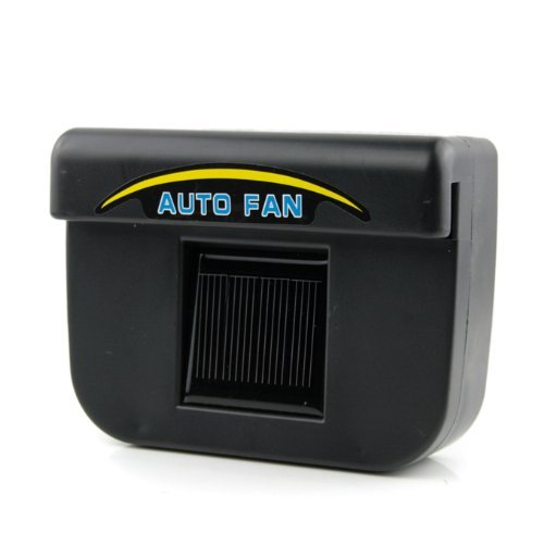 Fordex Group Solar Powered Car Auto Air Vent Cooling Fan System As Seen on Tv (Solar Powered Car Fan compare prices)