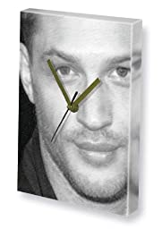 TOM HARDY - Canvas Clock (LARGE A3 - Signed by the Artist) #js003