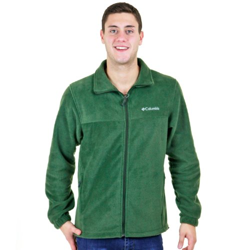 Columbia Men'S Tall Steens Mountain Full Zip 2.0, Surplus Green/Charcoal Heather, X-Large/T