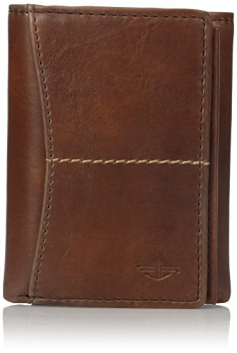 dockers-mens-hobbs-extra-capacity-trifold-wallet-cognac-one-size