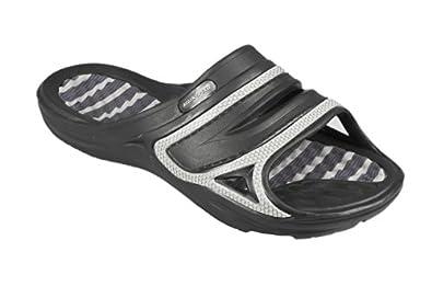 Aqua-Speed - Men Bathing Shoes / Thongs - very light Tahiti 461-07 (black/grey, 39)