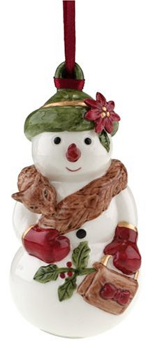 Villeroy & Boch Festive Collection Mrs. Snow 4-3/4-Inch Ornament