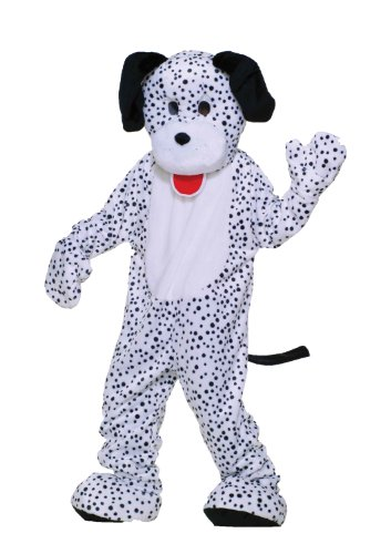 Forum Deluxe Plush Dog Mascot Dalmatian Costume