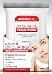 Dermactin Ts Exfoliating Facial Wipes